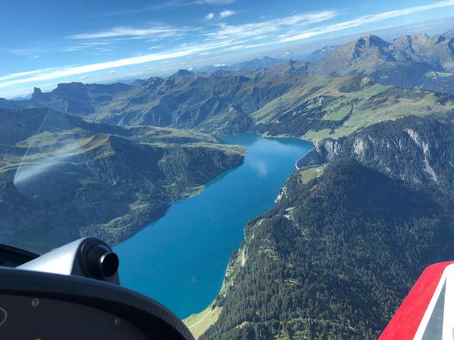 Vol Montagne Lac de Roselend