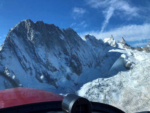 Vol Montagne Massif du Mont-Blanc